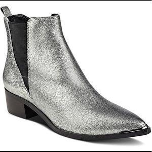 Marc Fisher Metallic Boots